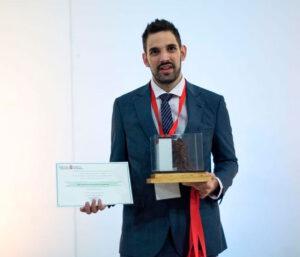 Rubén moreno premio empresario autónomo navarra 2018