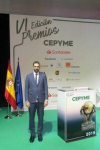 premio Rubén moreno premios cepyme 2019